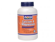 NOW - Calcium & Magnesium Citrate powder - 227 gr.