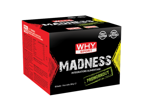 WHY - MADNESS PRE WORKOUT