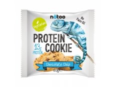 NATOO - PROTEIN COOKIE - 1 biscotto da 60 gr, gusto Chocolate chip