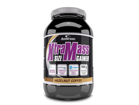 ANDERSON - XTRA MASS SIZE GAINER 1100 g CHOCOLATE