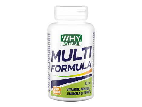 WHY NATURE - MULTI FORMULA 30 cpr