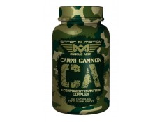 SCITEC - MUSCLE ARMY - CARNI CANNON - 60 caps.
