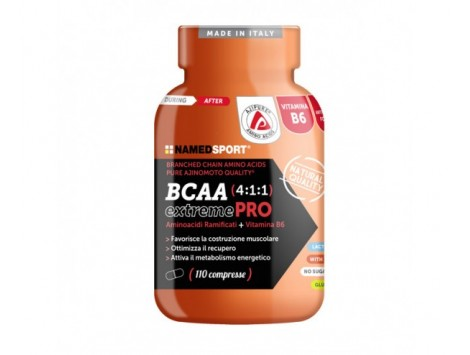 BCAA 4:1:1 Extreme Pro - 110 cpr.