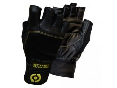 SCITEC - YELLOW - Guanti palestra in pelle