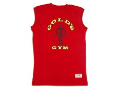 GOLD'S GYM - Muscle/T-SHIRT smanicata rossa