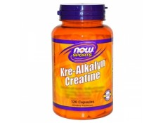 NOW  - Kre-Alkalyn Creatine 750mg 120 compresse