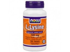 NOW -  L-Lysine 500mg 100 cps