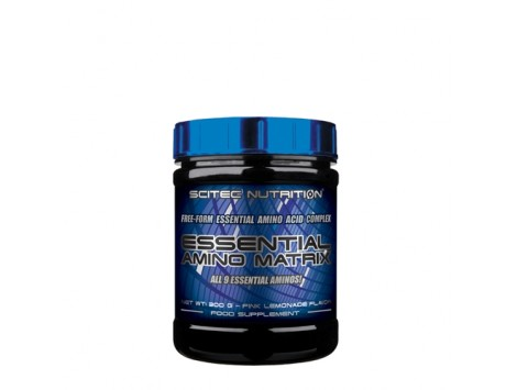 SCITEC - ESSENTIAL AMINO MATRIX - 300 gr. gusto pink lemon