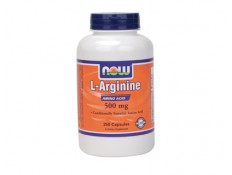 NOW L- Arginine 1000mg Free Form - 120cpr.