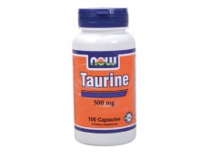 NOW - Taurine 500mg. Free Form - 100 caps.